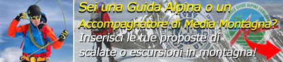 Proposta per Guide Alpine e Accompagnatori di Media Montagna