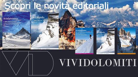 Nuovi libri ViviDolomiti
