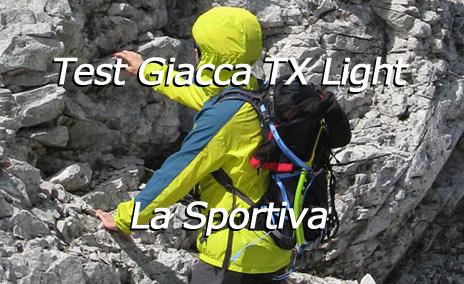 Test di VieNormali.it della Giacca TX Light La Sportiva