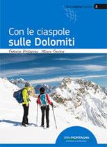 Copertina Con le ciaspole sulle Dolomiti