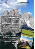 I 3000 delle Dolomiti al CAI di San Bonifacio
