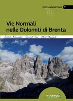 Copertina Vie normali nelle Dolomiti di Brenta