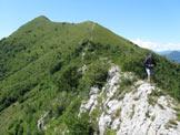 Via Normale Monte Vignole - Lungo la cresta