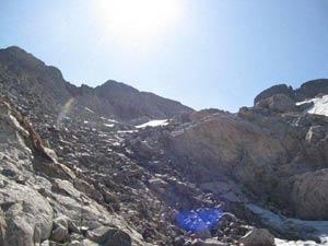 Via Normale Monte Matto cima est