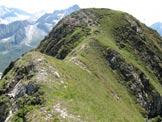 Via Normale Monte Serodine - Verso la cima