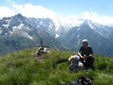 Via Normale Monte Serodine - Sulla cima