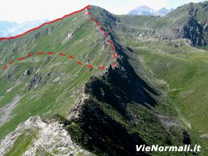 Via Normale Monte Tonale Ovest