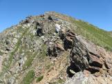 Via Normale Monte Tonale Ovest - Lungo la cresta di salita