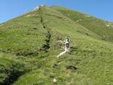 Via Normale Cima di Cadi - La cresta di discesa