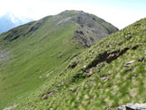 Via Normale Cima Bleis - La larga cresta di salita