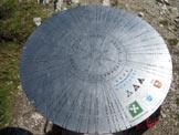 Via Normale Corno Stella - Il disco di orientamento