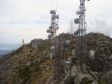 Via Normale Monte Capanne - La Stazione della Funivia sulla vetta.