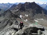Via Normale Monte Emilius - Lungo la cresta sud