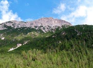 Via Normale Rautkofel - Teston di Monte Rudo