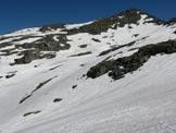Via Normale Cima Laione - Vista dal Passo di Blumone