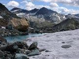 Via Normale Punta Nera - Surettahorn - Fenomeni di discioglimento glaciale