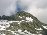 Via Normale Cima di Camadra - La Cima di Camadra dal Colle 2794
