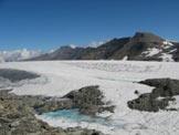 Via Normale Rocciamelone cresta NW - Il lago effimero