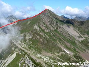 Via Normale Monte Toro