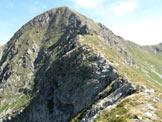 Via Normale Monte Toro - Ultimo tratto della cresta SW