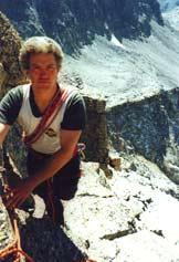 Via Normale Becco Meridionale della Tribolazione - In arrampicata