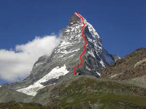 Via Normale Cervino - Via normale svizzera