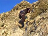 Via Normale Cervino - Via normale svizzera - Tratto di arrampicata
