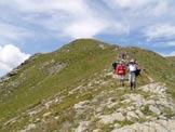 Via Normale Cima Vegaia - Discesa dalla cima