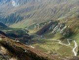 Via Normale Triangolo di Riva (Dreieck) - La strada per il Passo Gola