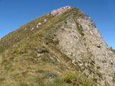 Via Normale Pizzo dell'Orto - La parte finale della cresta