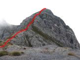 Via Normale Monte del Tonale - Il percorso di salita dal P.so del Tonale
