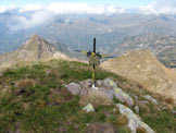 Via Normale Monte del Tonale - La croce sulla cima