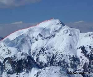 Via Normale Monte Croce