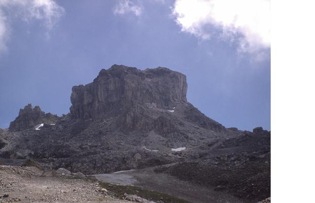 Via Normale Cime Bianche - Bec Carr�