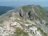 Via Normale Gendarme del Viglio - La cresta Nord del Viglio dove passava il confine tra lo Stato Pontificio e il Regno Borbonico