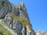 Via Normale Vetta Sassetelli - La parete Nord del Terminillo visto dalle Scangive