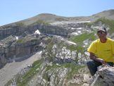 Via Normale Monte Mozzone - Sul Monte Mozzone 2290 m, dietro il Monte Corvo