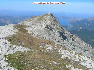 Via Normale Monte Corvo - Vetta Occidentale