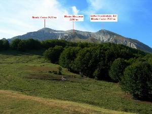 Via Normale Monte Corvo (cresta N)