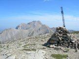 Via Normale Monte Corvo (cresta N) - Dal Monte Corvo vista dell´Intermesoli e i Due Corni