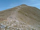 Via Normale Monte Viglio (cresta SW) - La cresta SW del Viglio, antico confine tra lo Stato Pontificio e il Regno Borbonico
