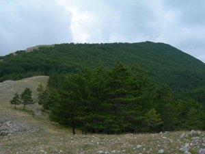 Via Normale Monte La Serra
