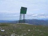 Via Normale Monte Tilia - Il ripetitore passivo di Monte Tilia