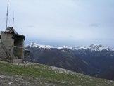 Via Normale Monte Tilia - Dalla vetta di Monte Tilia vista del Gruppo del Terminillo