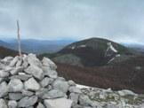 Via Normale Monte Corno - Dalla Vetta di Monte Corno vista del Monte Tilia