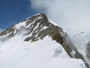 Via Normale Piramide Vincent (Cresta del Soldato)