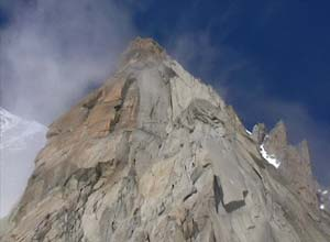 Via Normale Pyramide du Tacul