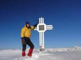 Via Normale Dosso Alto - Cresta NNW - Croce di vetta