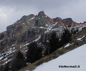 Via Normale Monte Ario