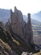Via Normale Torre (normale) - Il complesso Torre-Fungo-Lancia-Campaniletto da W.